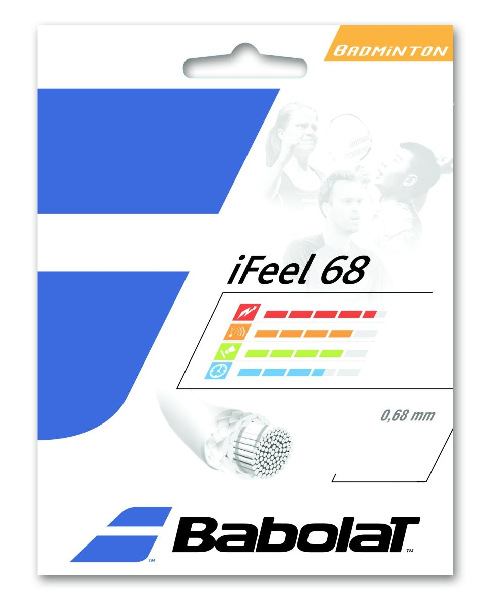 Babolat iFeel 68 10,20m 0,68 bílá