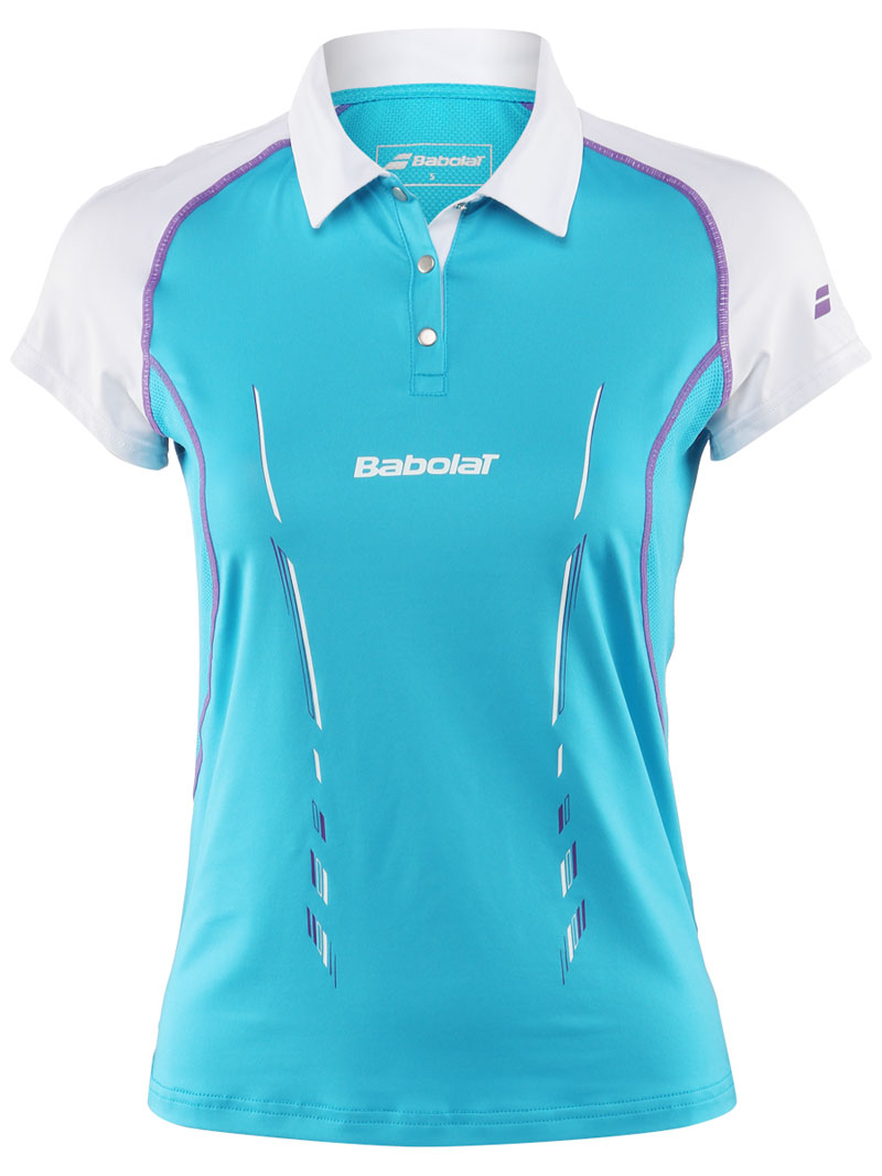 Babolat Polo Girl Match Performance Blue 2014 164