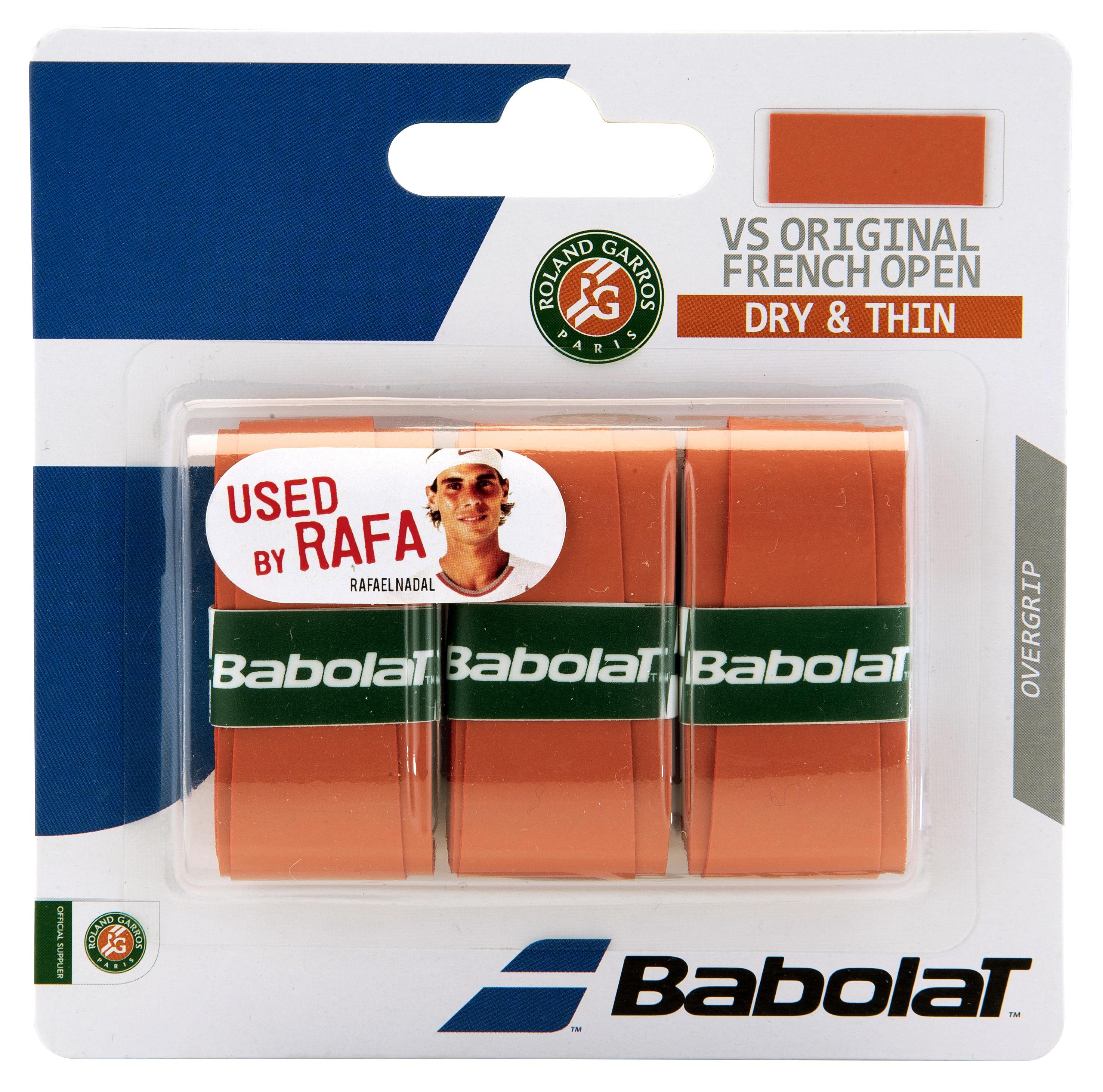 Babolat VS Grip Original French Open 2016 X3 Clay