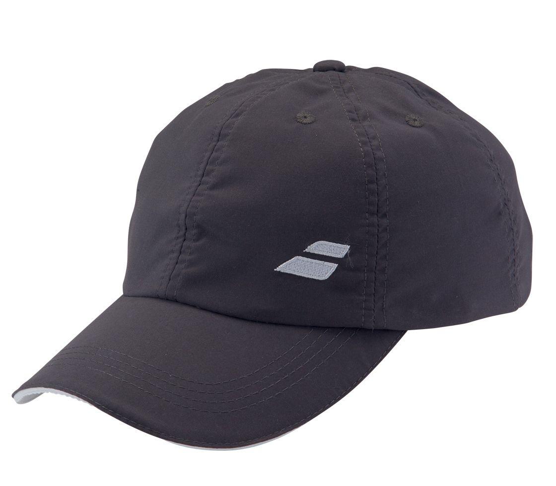 Babolat Cap Basic 2016 šedá - prodyšná čepice na tenis
