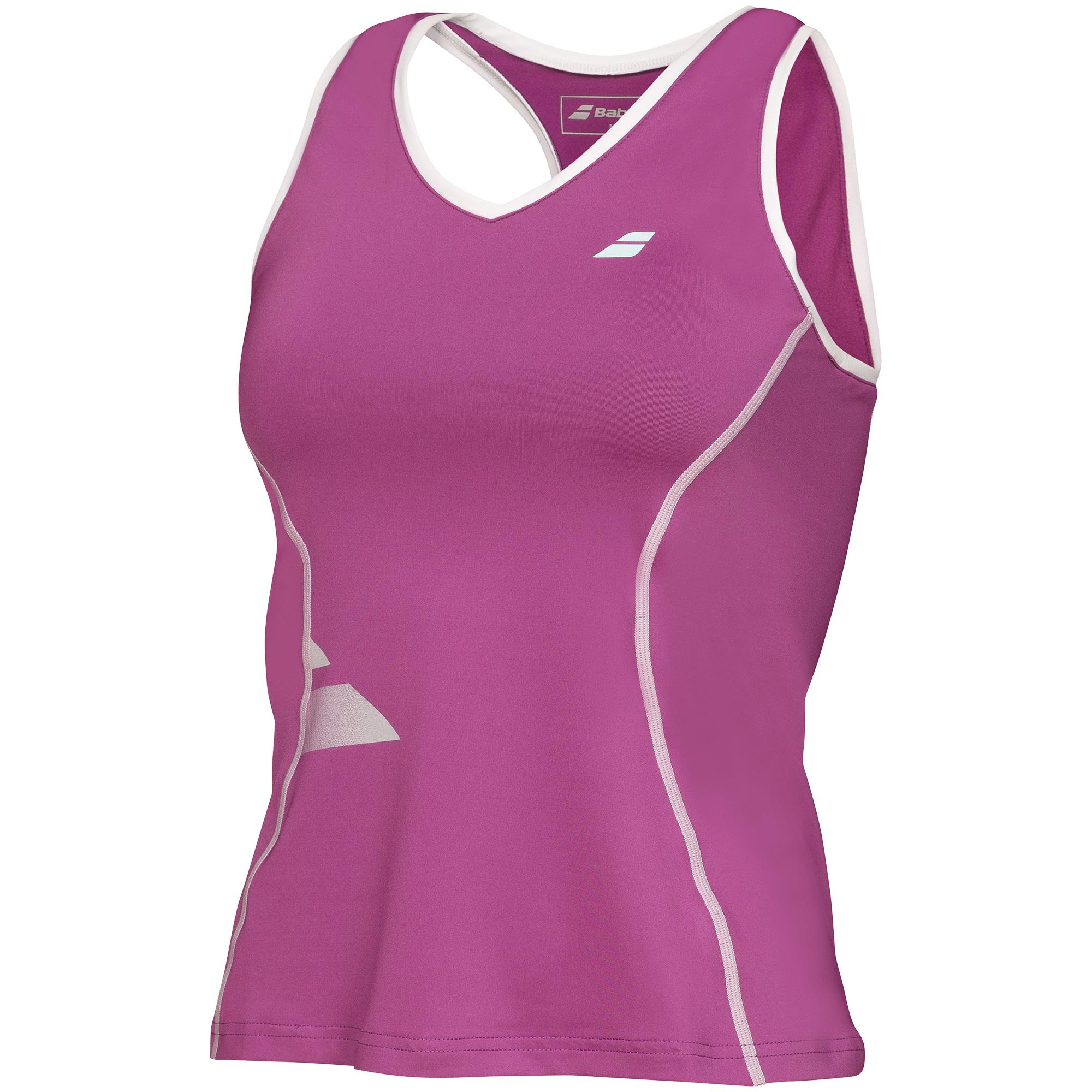 Babolat Crop Tank Top Girl Performance Plum 2016 164