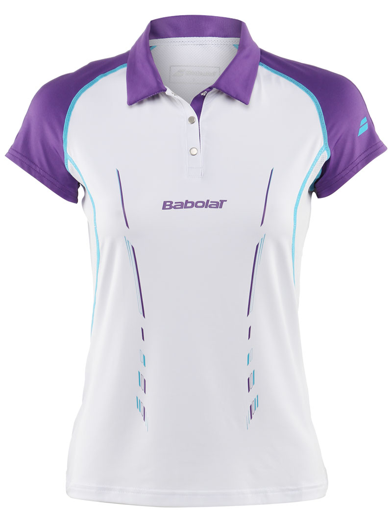 Babolat Polo Girl Match Performance White 2014 164