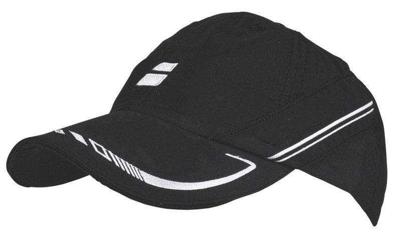 Babolat Cap IV 2015 černá - prodyšná čepice na tenis junior
