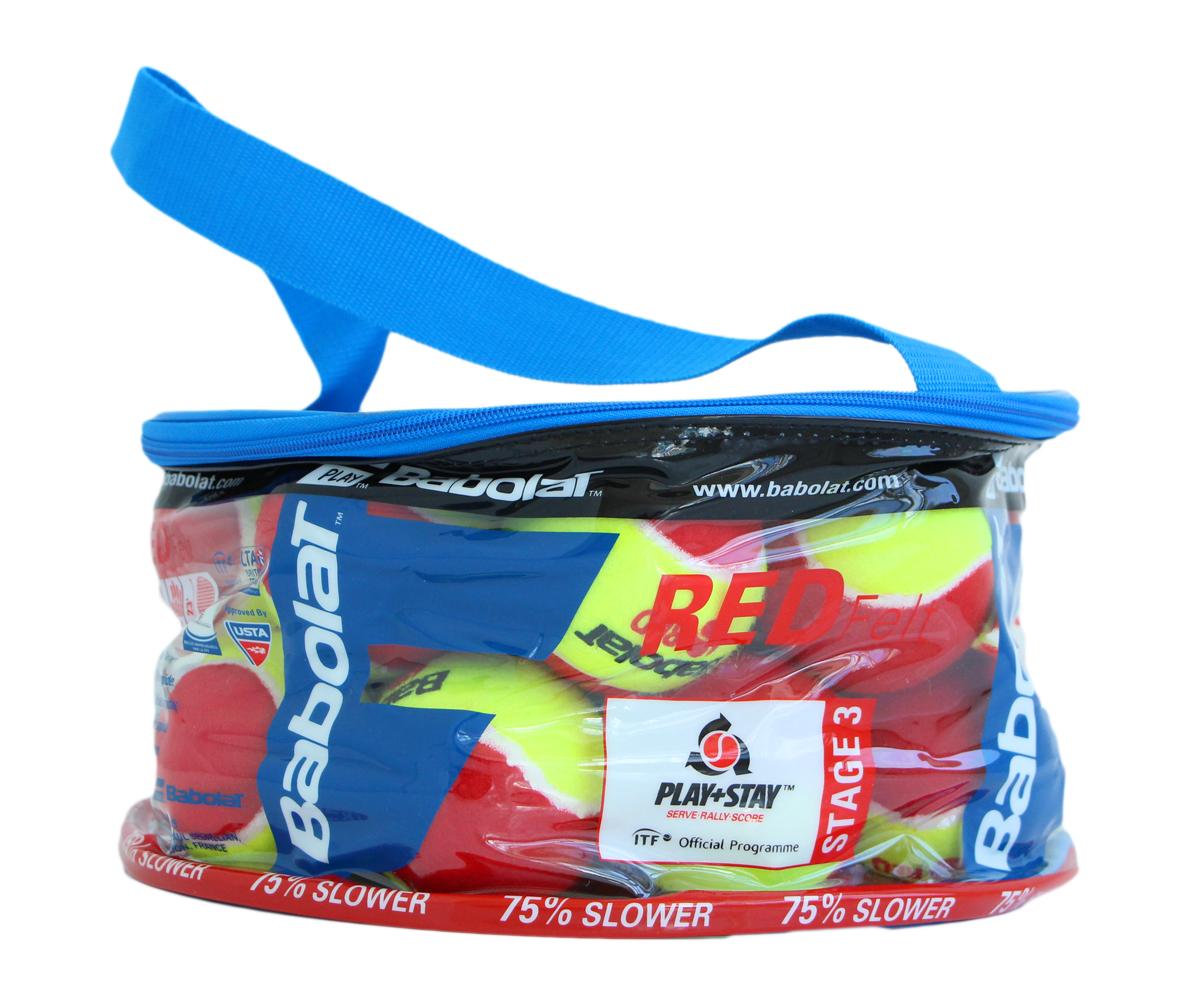Babolat Red Felt X24 - plastový pytel