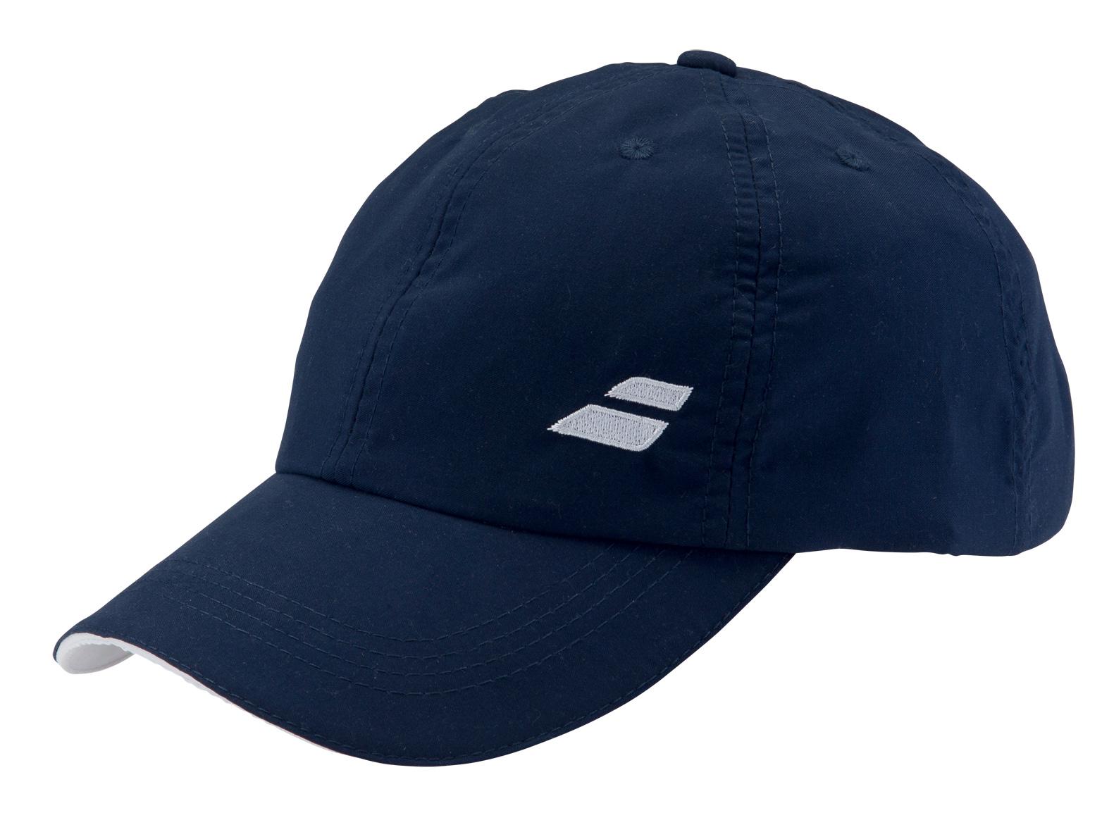Babolat Cap Basic 2016 modrá - prodyšná čepice na tenis