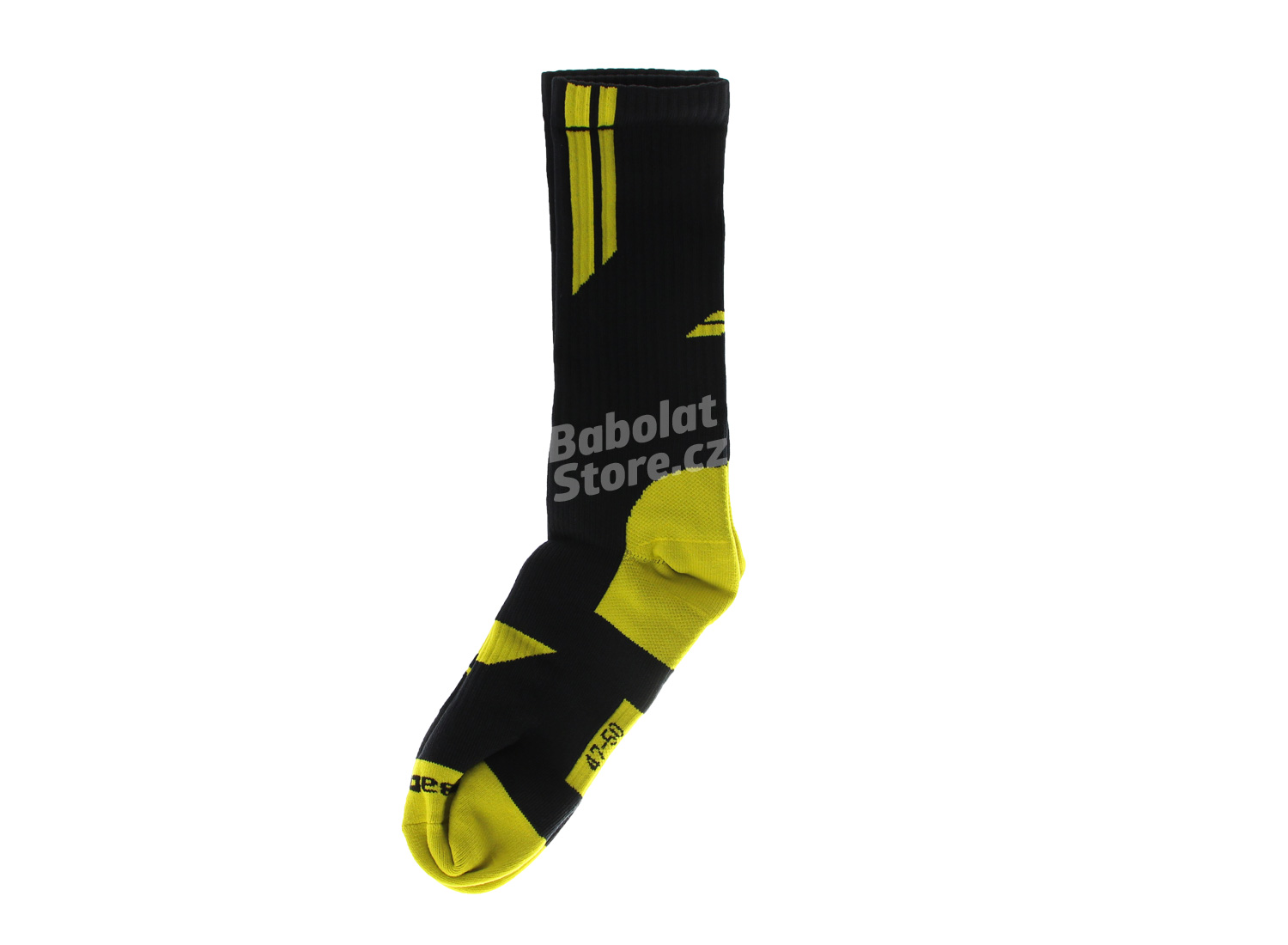 Babolat Ponožky Team Big Logo Black/Yellow 39/42